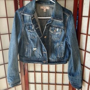 Decree Darker Washed Denim Jacket